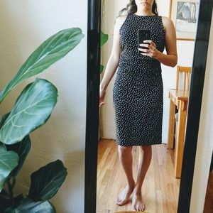 ann taylor // ruched dress